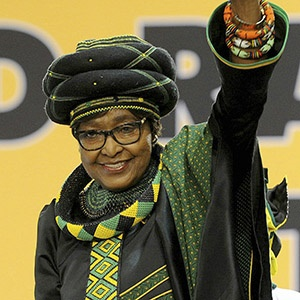 JOHANNESBURG, SOUTH AFRICA – DECEMBER 16: Veteran Winnie Madikizela-Mandela during outgoing ANC president Jacob Zuma's final speech at the party's 54th national elective conference at the Nasrec Expo Centre on December 16, 2017 in Johannesburg, South Africa. In his speech' Zuma reminded the ANC of the journey it had taken in 2017' remembering the longest-serving president of the ANC' Oliver Reginald Tambo. (Photo by Gallo Images / Sowetan / Veli Nhlapo)